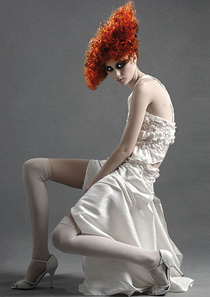 Peter Tiller bright copper red hair curls