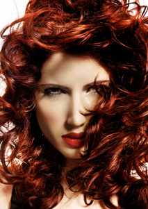Even curly hair benefits from drops or oil to smooth any fly-away hairs - Geoffery Herberg