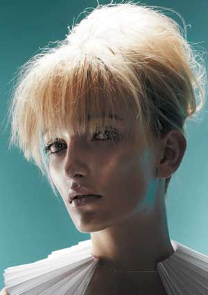 Fringes take the harshness out of pulling hair off the face from Shona Cataldo of Cataldos Canberra